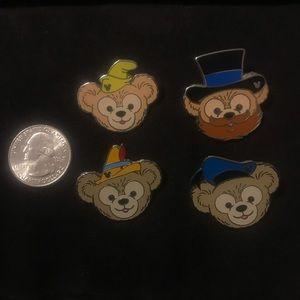 Disney Duffy Enamel Pins